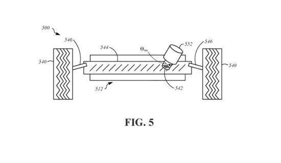苹果为自动驾驶汽车的线控转向系统申请专利